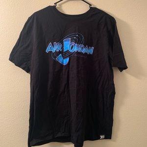 Space Jam style air Jordan t shirt